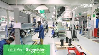 Schneider Electric IT BU BEF Factories | An Inside Look