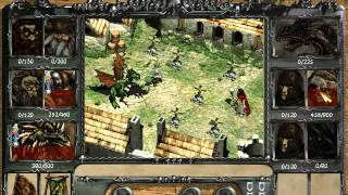 Disciples: Sacred Lands - Mountain Clans conquer Undead Hordes capital