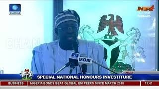 25 Years After, Buhari Honours Late MKO Abiola With Posthumous GCFR Nat'l Award Pt.13