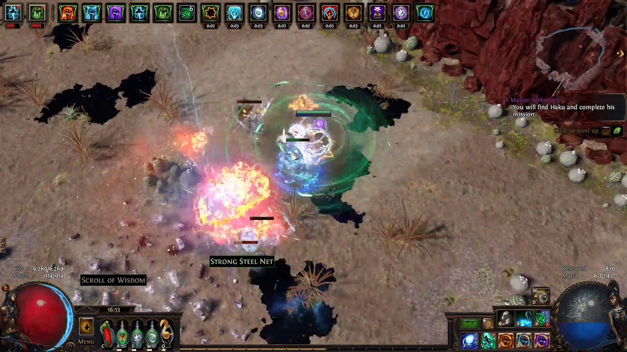 Poe 3 3 Witch Build] Cheap Tanky Clear Speed Fast