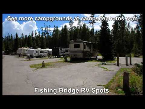 Fishing Bridge RV Park, Yellowstone National Park, Wyoming