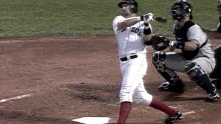 Kevin Millar belts three homers over the Monster