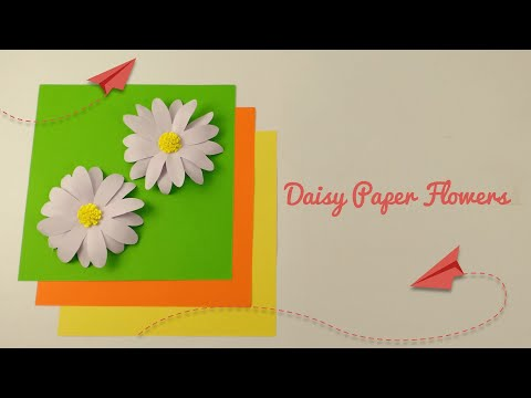 How To Make Daisy Paper FLowers | DIY Paper FLowers