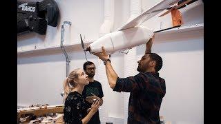 LiU students test-fly aircraft models