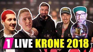 Marteria, Casper, RIN, Namika, Mark Forster, Kontra K, Lukas Rieger uvm bei der 1LIVE KRONE 2018