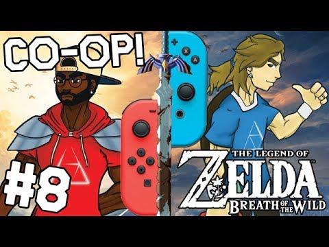 Zelda BoTW 2 PLAYER CO-OP - The Ultimate Trial of The Sword #8