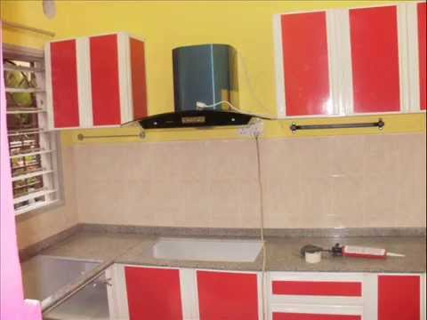My modern aluminium kitchen 2 youtube for Aluminum kitchen cabinets in the philippines