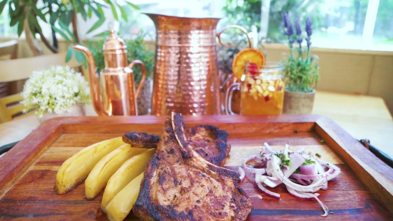Maria's Mediterranean: Pork Chops with Lemon Potatoes