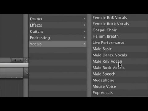 Good Vocal Effects On Garageband Garageband Tips Youtube