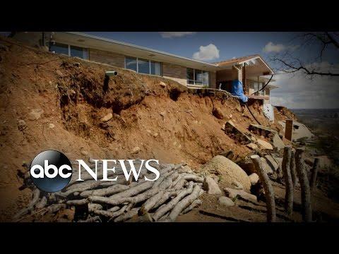Homeowners Lose a Yard, Gain a Canyon