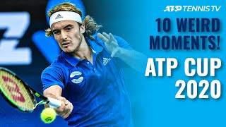 10 Weird ATP Cup Tennis Moments You May Have Missed!