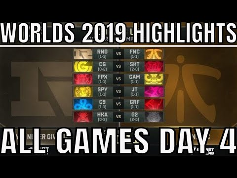 Worlds 2019 Day 4 Highlights ALL GAMES Group Stage