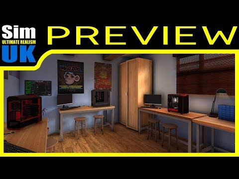 PC Building Simulator First LOOK Gameplay Review (Preview)