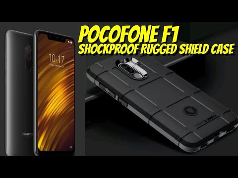 outlet store 866ce 84247 Pocofone F1 & 'Shockproof Rugged Shield Case' Under $5 From eBay