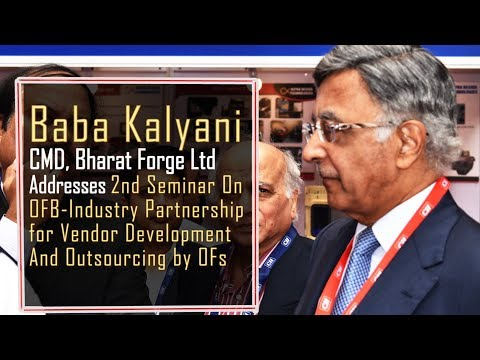 Baba Kalyani Chairman, CII National Committee on Defence Urges To Order Sub-Systems Than Components