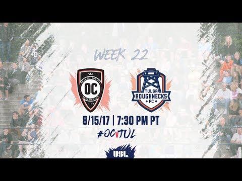 USL LIVE - Orange County SC vs Tulsa Roughnecks FC 8/15/17