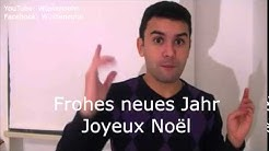 Frohe Weihnachten auf Französisch - Französisch für Anfänger