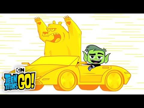 Pyramid Mummy Money I Teen Titans Go I Cartoon Network
