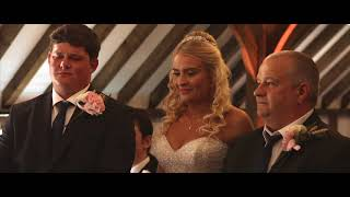 Sam and Melissa's Wedding Film at Blackstock Barns