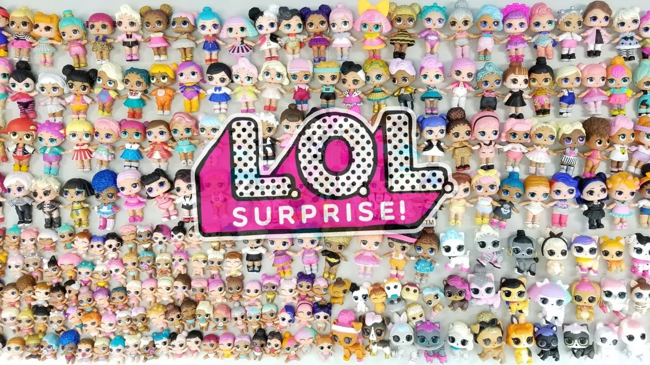 LOL Surprise COMPLETE COLLECTION | L.O.L. Full Set Series