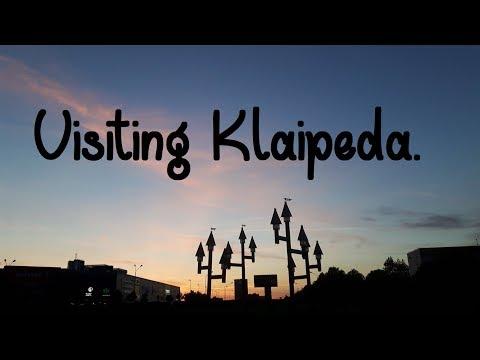 Visiting Klaipeda.