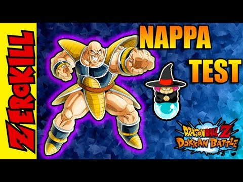 LIDERES DE BABA SHOP, NAPPA PHY TEST - DRAGON BALL DOKKAN BATTLE