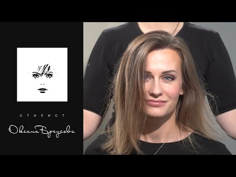 Наращивание на мелированные волосы