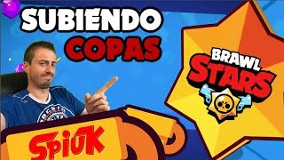 ¡¡9500 copas en BRAWL STARS!! TOP 50 *SPAIN*