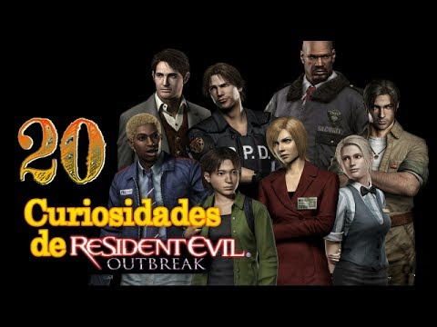 20 Curiosidades de Resident Evil: Outbreak File 1 & 2