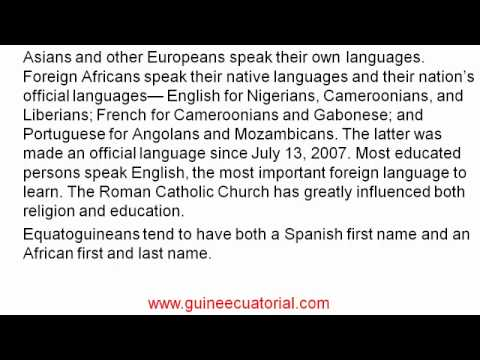 demography of Equatoria guinea | guine ecuatorial