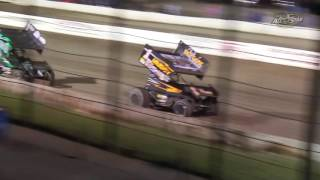 Lebanon Valley Speedway All Star Sprint Car Highlights