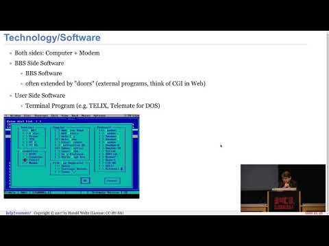 34C3 -  BBSs and early Internet access in the 1990ies