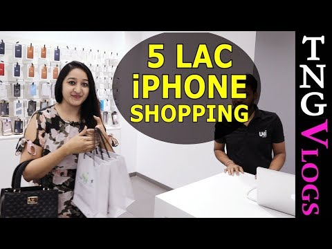 Rs.500,000 iPhone 11 Shopping From Apple Store INDIA From YOUTUBE MONEY