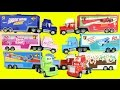 Disney Cars Lightning McQueen & Mater Go To The Worlds Largest Hauler Semi Truck Parade Collection