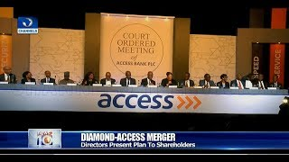 Diamond-Access Merger: Bank Directors Present Plan To Shareholders