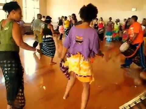 Congolese drummers dance class Oakland, California