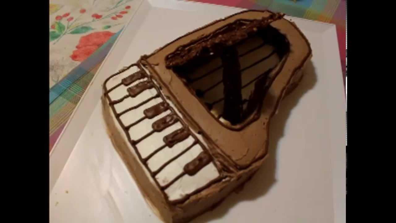 Torta pianoforte youtube - Colorazione pagina della torta di compleanno ...