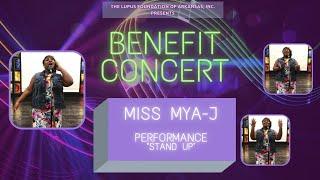 "Miss Mya-J ""Stand Up"" : LFOA, Inc. 2021 Benefit Concert"