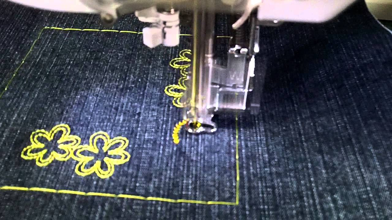 Treading The Brother Innov Is 4000d Embroidery Machine