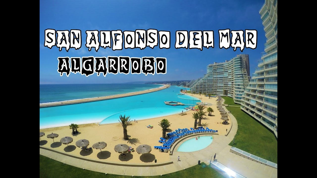 San alfonso del mar maior piscina do mundo youtube for Piscinas ecologicas chile