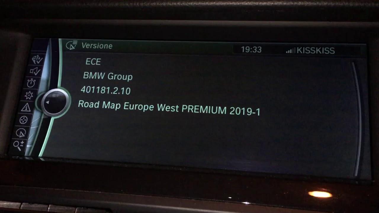 aggiornamento mappe bmw
