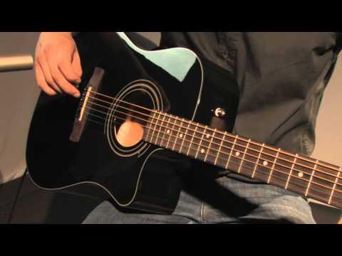 Fender CD-60 CE BLK Upgrade Black
