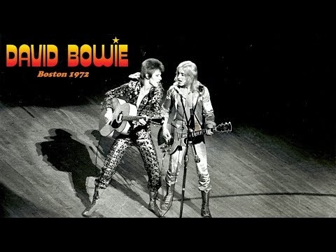 David Bowie - Boston, Massachusetts October 1st 1972