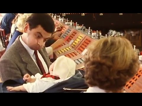 Mind the Baby Bean | Episode 10 | Classic Mr. Bean