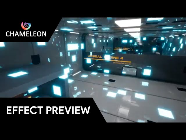 Grid Cell post process effect for Unreal Engine 4