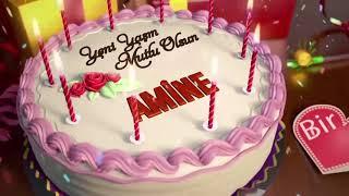 İyi ki doğdun AMİNE - İsme Özel Doğum Günü Şarkısı