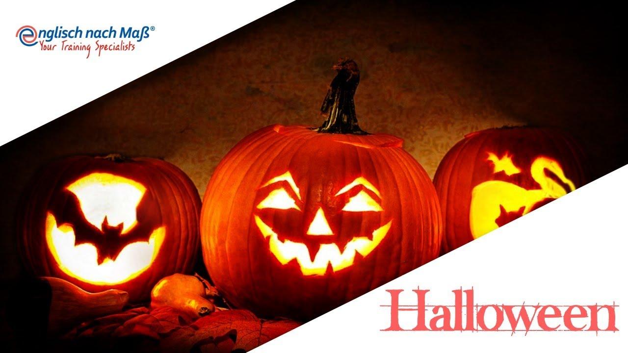Halloween Kurbis Auf Englisch.Learn English Halloween Trick Or Treat Youtube