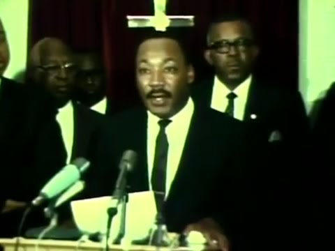 Martin Luther King Jr. ends boycott in Cleveland, August 1967