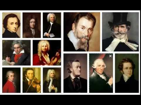 principales compositores del barroco