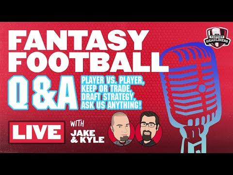 2020 Fantasy Football Advice - Fantasy Football Week 6 - LIVE Q&A